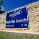 Welcome to Angelo State University sign