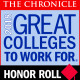 The Chronicle - 2018 Great Colleges to Work For - Honor Roll