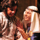 "Janae Hatchett as Queen Eleanor in the University Theatre production of ""The Lion in Winter"""