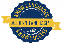 Know languages. Know success. Modern Languages at Angelo State logo