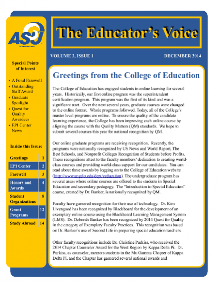 The Educator's Voice thumbnail