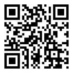 QR code to register for COVID-19 testing on campus