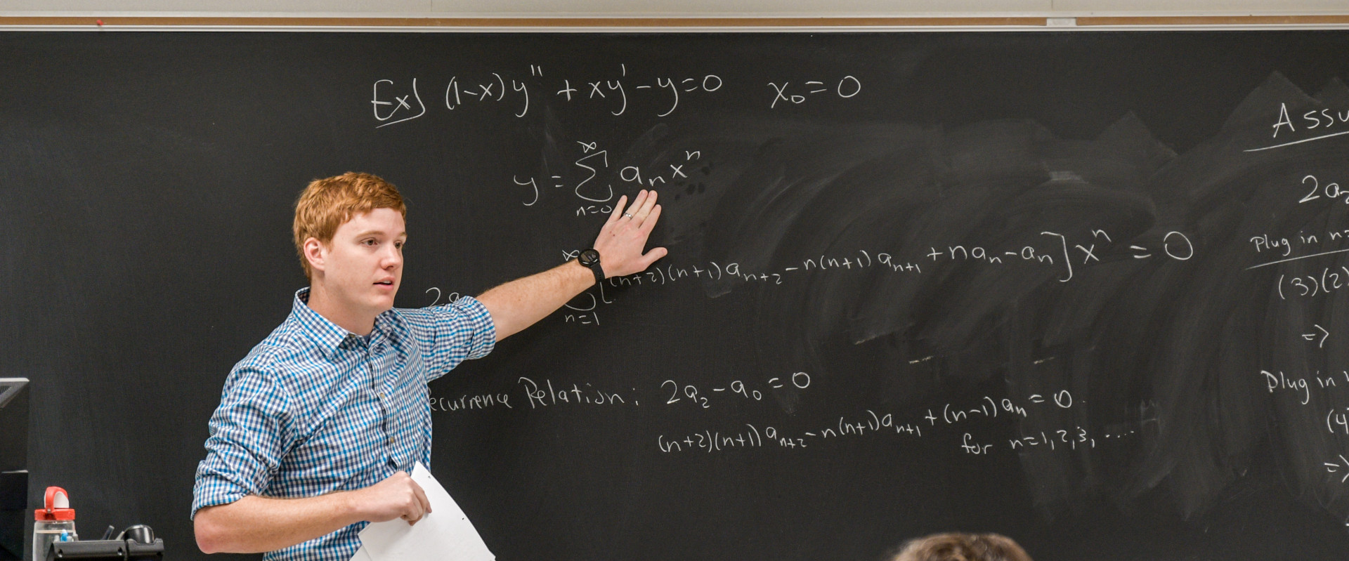 Professor teaching