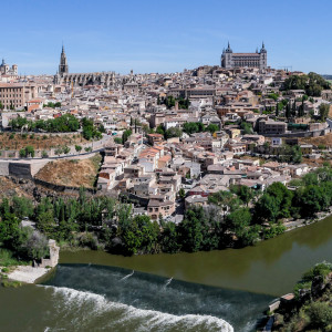 City and river in Spain