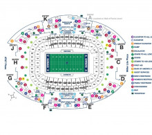 Lone Star Football Festival guests may enter the stadium through Gate C or Gate H.
