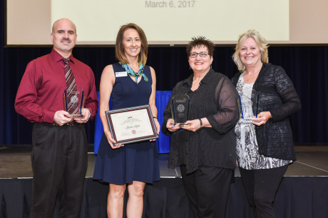 2016 Staff Excellence Award Recipients