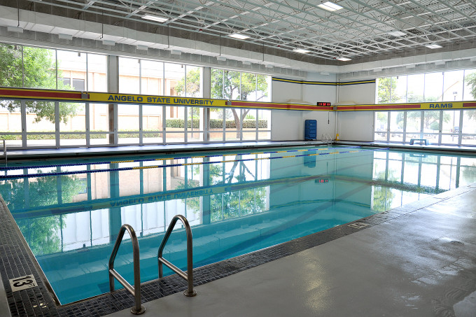 Pool at the Ben Kelly Human Performance Center