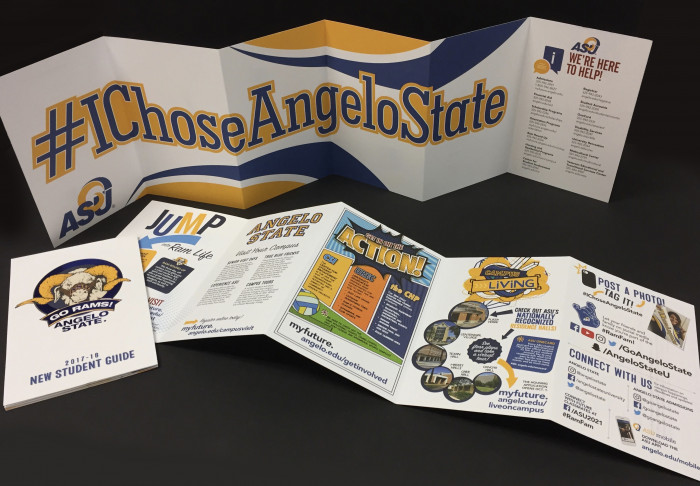 Admissions Student Guide created by Gabrielle Miller.