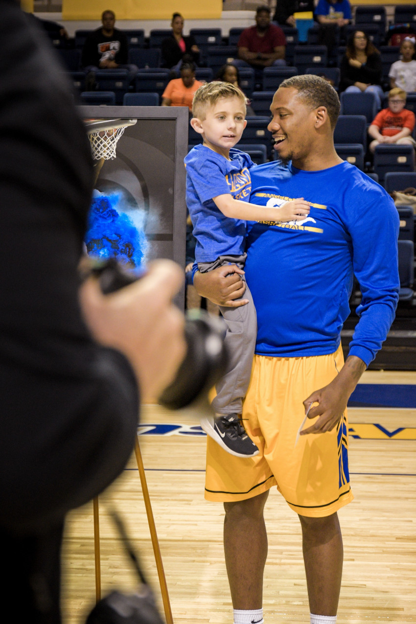 When James' family could not stand with him on Senior Night, he chose Hunter to do so. In Ja...