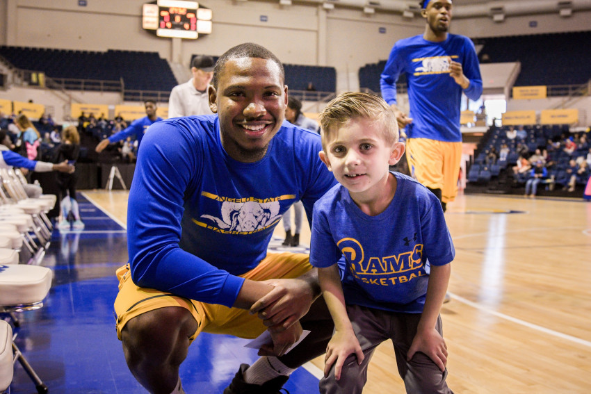 James and Hunter forged a lifetime bond, embodying the true spirit of the Ram Fam.