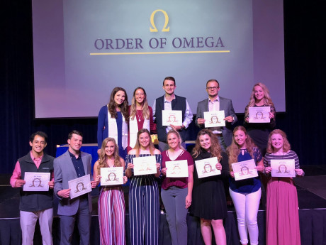 Order of Omega Student Group