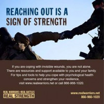 Reaching out is a sign of strength