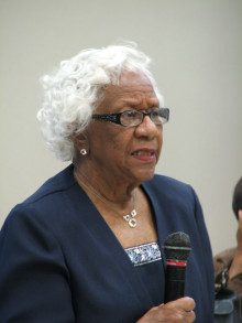 Mary Frances Owens, a retired SAISD school teacher discussed her experiences with integration.