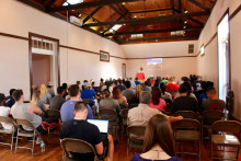 Over 100 members of the student body and local community attended the final event in the Great War Centennial Commemoratio...
