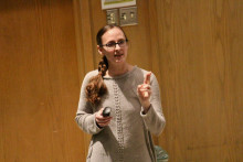 Prof. Allison Robbins, Dept. of Music, University of Central Missouri, visited Angelo State as a ...