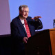 Prof. Charles Endress (ret.) spoke to a packed audience at the C. J. Davidson Center on the eveni...