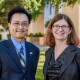 Profs. Wongsrichanalai and Lamberson, co-directors of the NEH-supported War Stories Project.