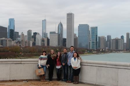 Students at 2015 NCHC Conference - Chicago, IL
