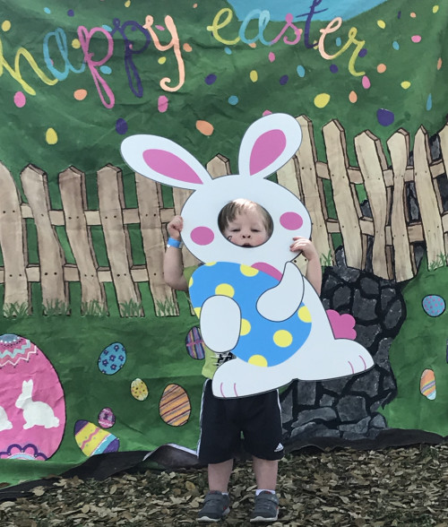Easter Bunny Photo Booth