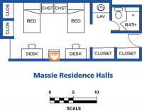 Massie Hall Network Drops