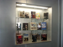 Library Display highlighting Juneteenth materials.