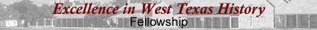 Excellence in West Texas History Fellowship