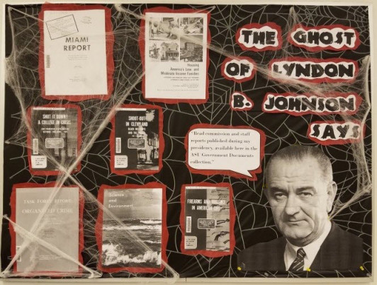 The Ghost of Lyndon Johnson poster