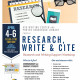 Research, Write & Cite