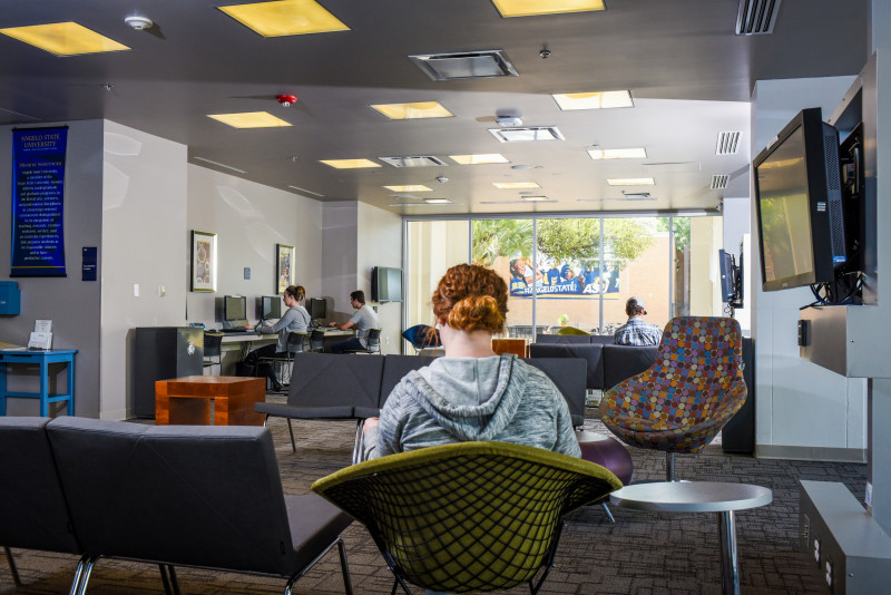 The Learning Commons is a hot spot for Rams on campus.