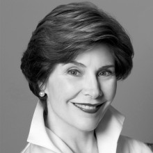Laura Bush,  First Lady of the United States (2001-2009)    Via Exclusive Video Interview        One of the most belo...