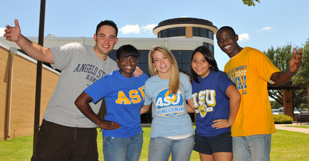 Angelo State University Students