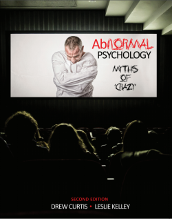 "Abnormal Psychology: Myths of ""Crazy"""